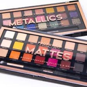 NEW Profusion Mattes Shimmers 25 eyeshadows each